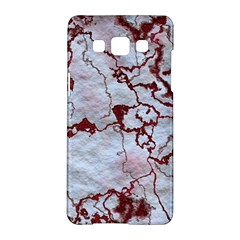 Marbled Lava Red Samsung Galaxy A5 Hardshell Case