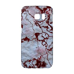 Marbled Lava Red Galaxy S6 Edge