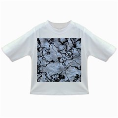 Marbled Lava White Black Infant/toddler T Shirts