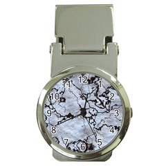 Marbled Lava White Black Money Clip Watches