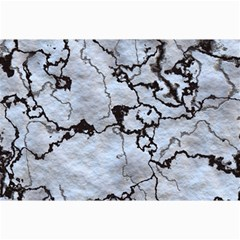 Marbled Lava White Black Collage 12  x 18