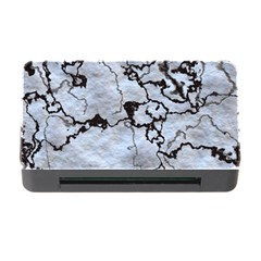 Marbled Lava White Black Memory Card Reader with CF