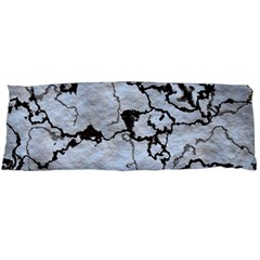 Marbled Lava White Black Body Pillow Cases Dakimakura (Two Sides)
