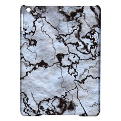 Marbled Lava White Black iPad Air Hardshell Cases