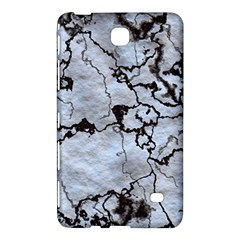 Marbled Lava White Black Samsung Galaxy Tab 4 (8 ) Hardshell Case
