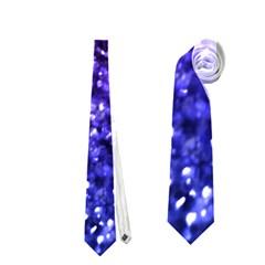 Midnight Glitter Neckties (one Side)