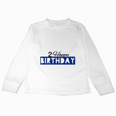Birthday Tshirt  Kids Long Sleeve T Shirts