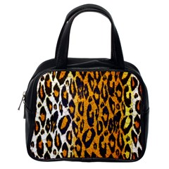 Cheetah Abstract Pattern  Classic Handbags (one Side)