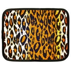 Cheetah Abstract Pattern  Netbook Case (XL)