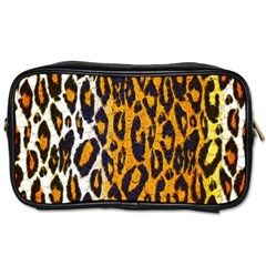 Cheetah Abstract Pattern  Toiletries Bags 2-Side