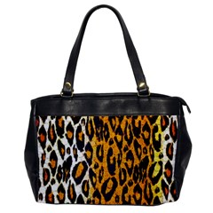 Cheetah Abstract Pattern  Office Handbags