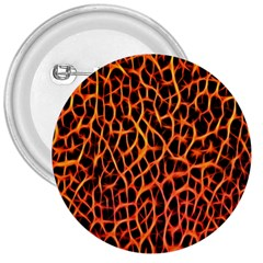 Lava Abstract Pattern  3  Buttons