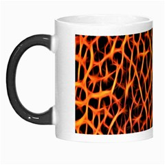Lava Abstract Pattern  Morph Mugs
