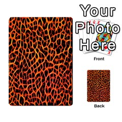 Lava Abstract Pattern  Multi Purpose Cards (rectangle)