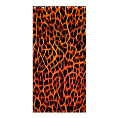 Lava Abstract Pattern  Shower Curtain 36  X 72  (stall)
