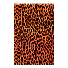 Lava Abstract Pattern  Shower Curtain 48  X 72  (small)