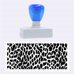 Lava Abstract Pattern  Rubber Stamps (Large)