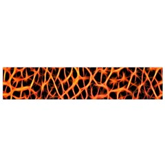 Lava Abstract Pattern  Flano Scarf (Small)