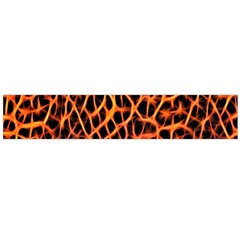 Lava Abstract Pattern  Flano Scarf (large)