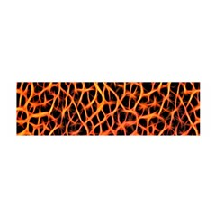 Lava Abstract Pattern  Satin Scarf (Oblong)