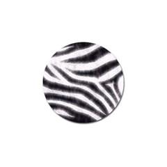 Black&white Zebra Abstract Pattern  Golf Ball Marker (4 Pack)