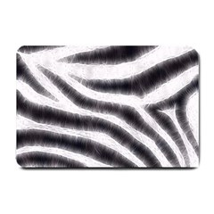 Black&White Zebra Abstract Pattern  Small Doormat