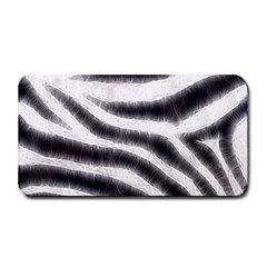 Black&White Zebra Abstract Pattern  Medium Bar Mats