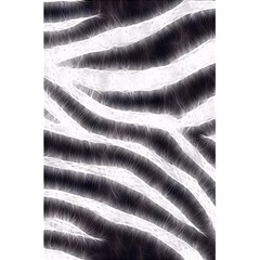 Black&White Zebra Abstract Pattern  5.5  x 8.5  Notebooks