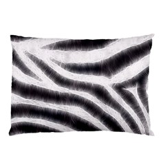 Black&white Zebra Abstract Pattern  Pillow Cases (two Sides)