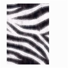 Black&White Zebra Abstract Pattern  Small Garden Flag (Two Sides)