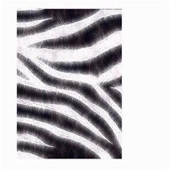 Black&white Zebra Abstract Pattern  Large Garden Flag (two Sides)