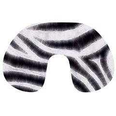 Black&White Zebra Abstract Pattern  Travel Neck Pillows