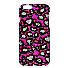Pink Black Cheetah Abstract  Apple iPhone 6/6S Plus Hardshell Case