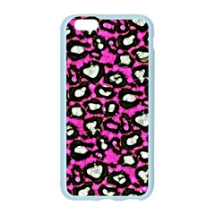Pink Black Cheetah Abstract  Apple Seamless iPhone 6 Case (Color)