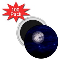 Moon and Stars 1.75  Magnets (100 pack)