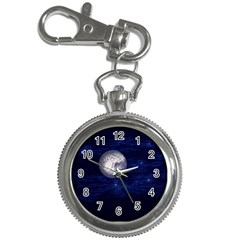 Moon and Stars Key Chain Watches