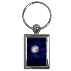 Moon and Stars Key Chains (Rectangle)