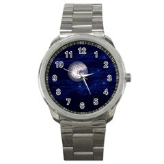 Moon And Stars Sport Metal Watches