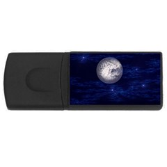 Moon and Stars USB Flash Drive Rectangular (4 GB)