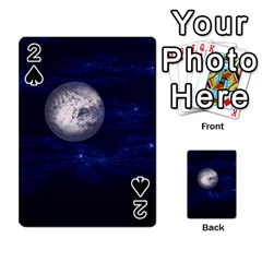 Moon and Stars Playing Cards 54 Designs