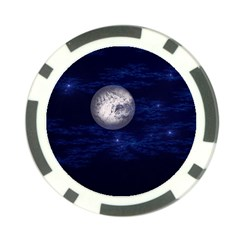 Moon And Stars Poker Chip Card Guards