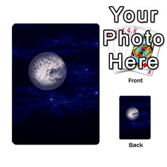 Moon and Stars Multi-purpose Cards (Rectangle)