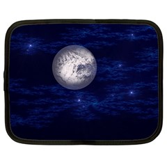 Moon and Stars Netbook Case (Large)