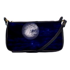 Moon And Stars Shoulder Clutch Bags