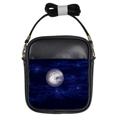 Moon And Stars Girls Sling Bags