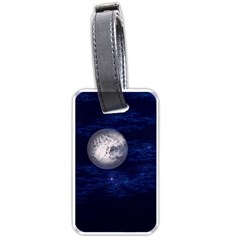 Moon And Stars Luggage Tags (two Sides)