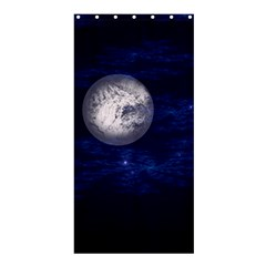 Moon and Stars Shower Curtain 36  x 72  (Stall)