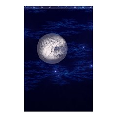 Moon and Stars Shower Curtain 48  x 72  (Small)