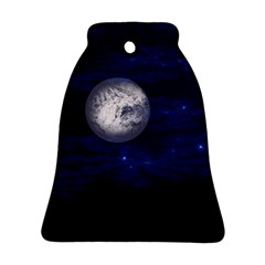 Moon and Stars Bell Ornament (2 Sides)