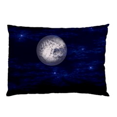 Moon and Stars Pillow Cases (Two Sides)